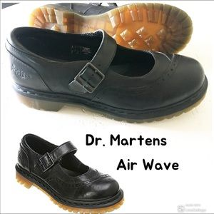 Dr. Martens Black LEATHER ALISON Mary Jane SHOE 11